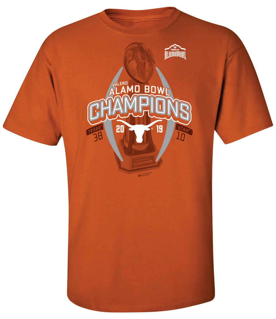 2019 Valero Alamo Bowl Texas Champions Orange SST