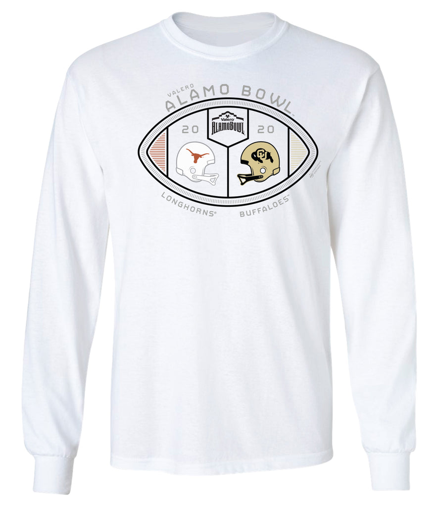 2020 Valero Alamo Bowl 2-Team Long Sleeve T