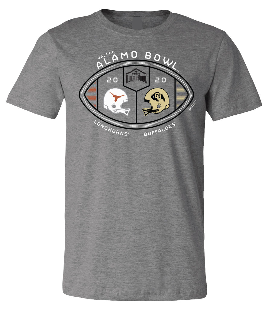 2020 Valero Alamo Bowl 2-Team Short Sleeve T