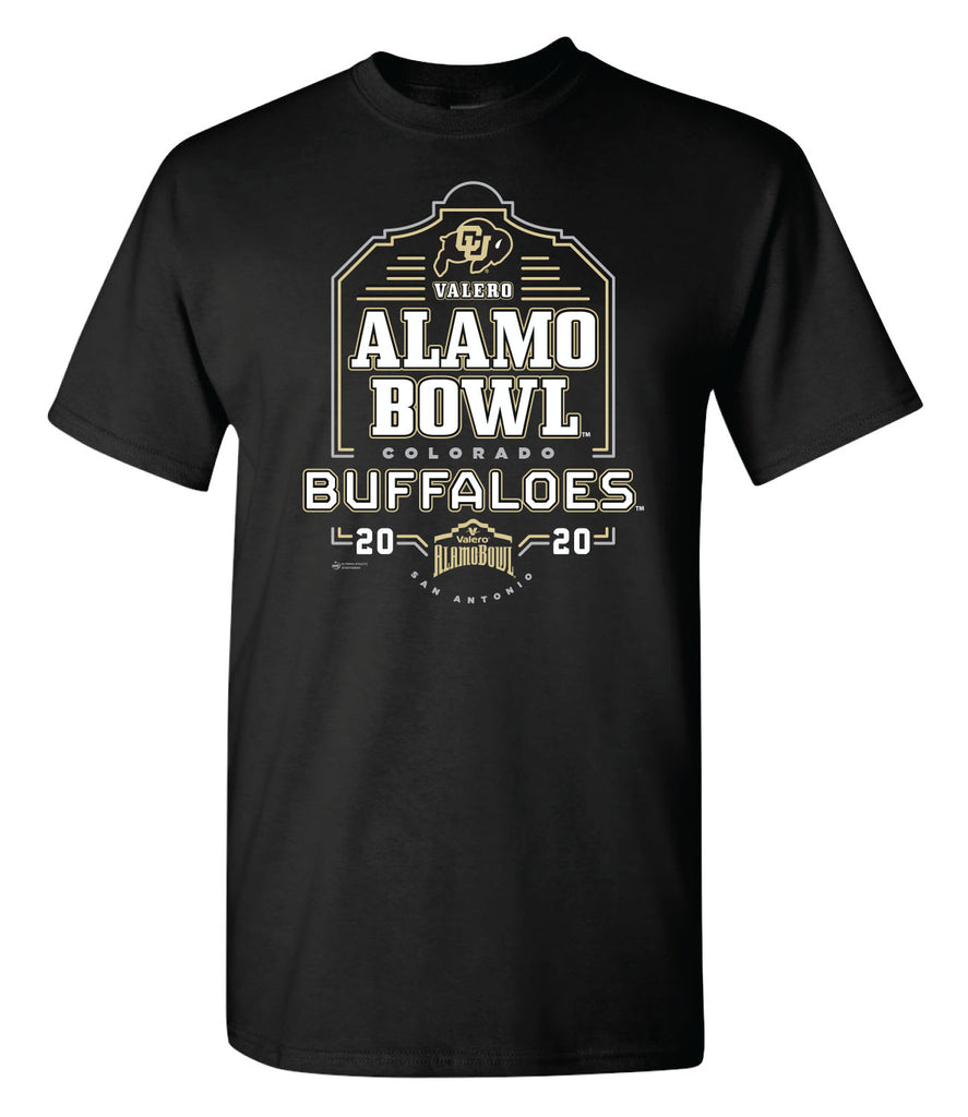 2020 Valero Alamo Bowl Colorado Short Sleeve T