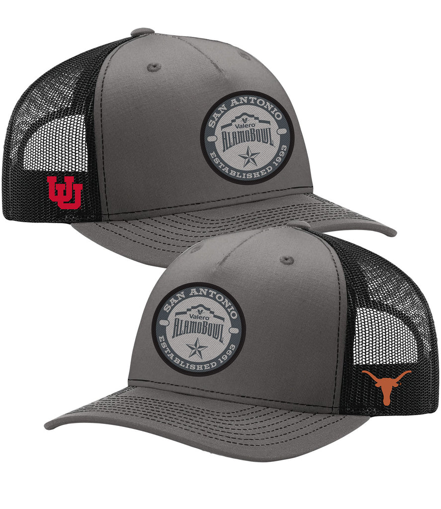 2019 Valero Alamo Bowl 2-Team Grey Heather Hat