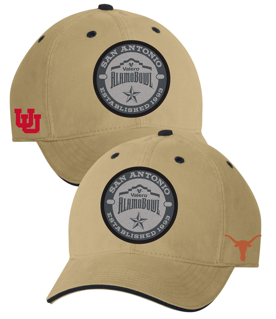 2019 Valero Alamo Bowl 2-Team Khaki Hat