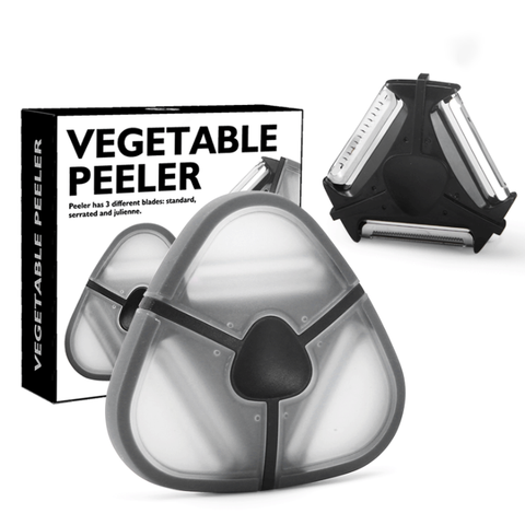 3 in one Vegetable Peeler
