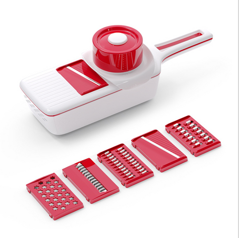 7 in 1 Magic Nicer Quick Stainless Steel Vegetable Dicer