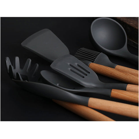 8 Pcs Silicone Kitchen Cooking Tools