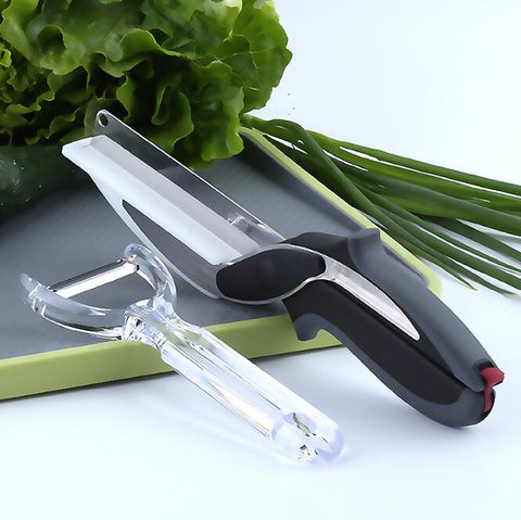 Smart Multi-Function Clever Scissors Cutter 2 in 1