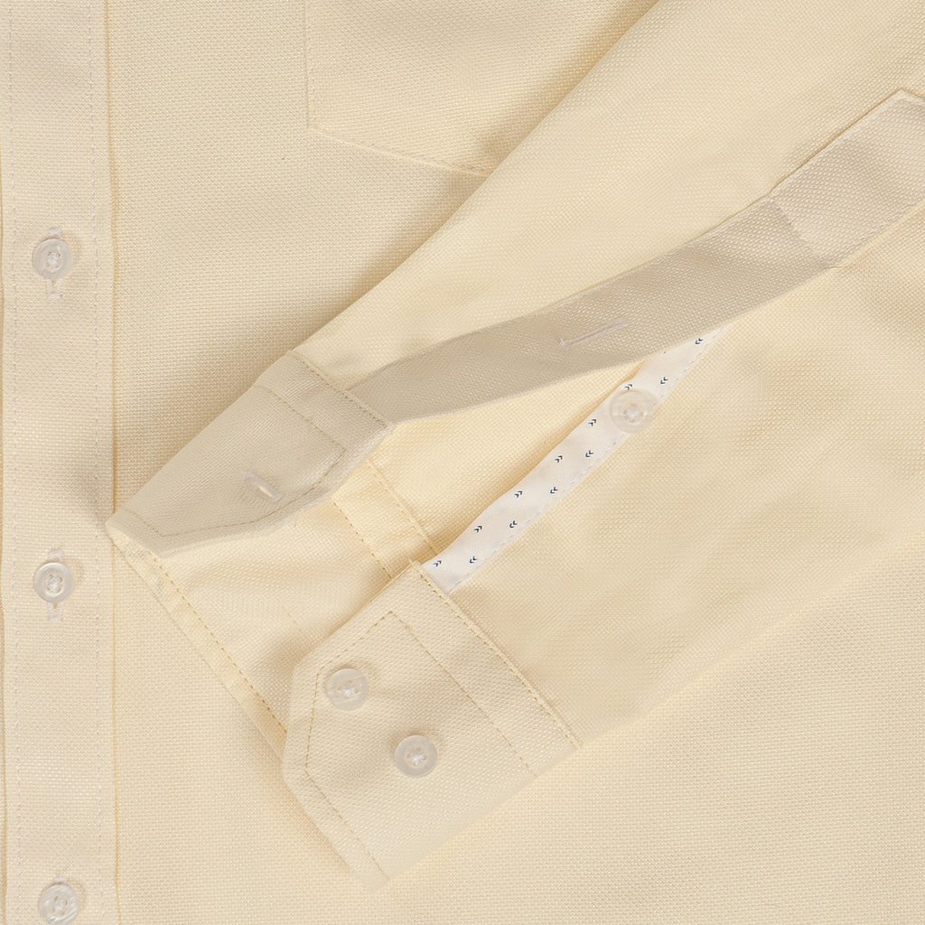 Camisa Oxford Beige