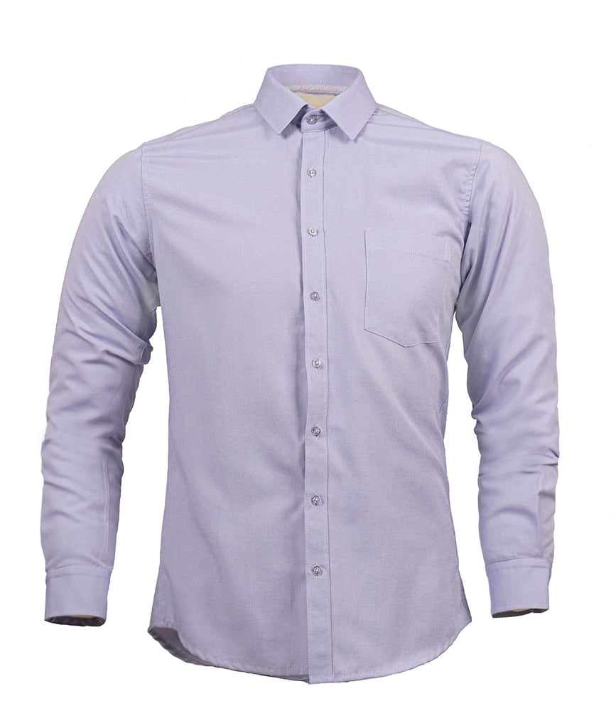 Camisa Oxford Lila