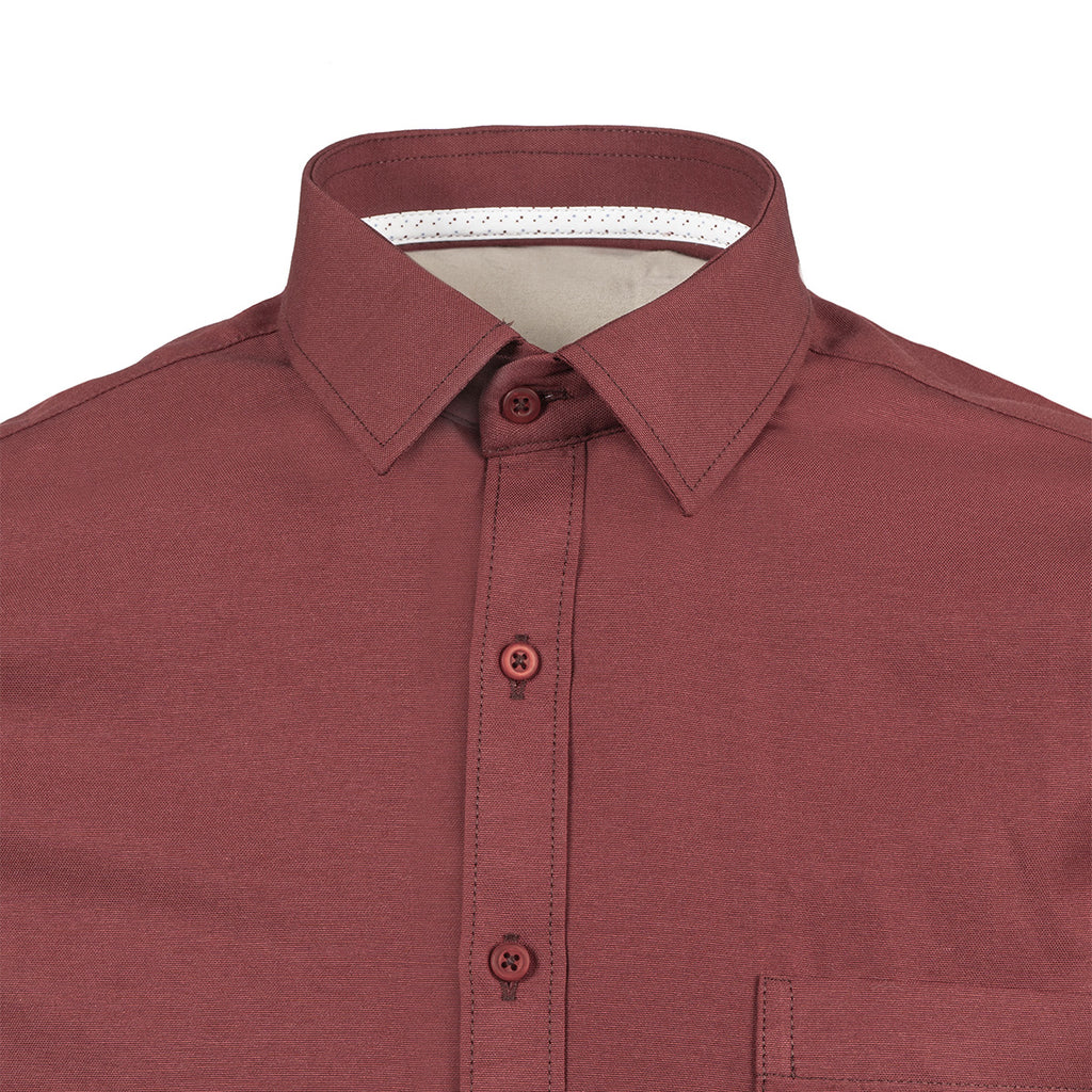 Camisa Oxford Roja