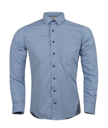 Camisa Formal Gallineto Azul