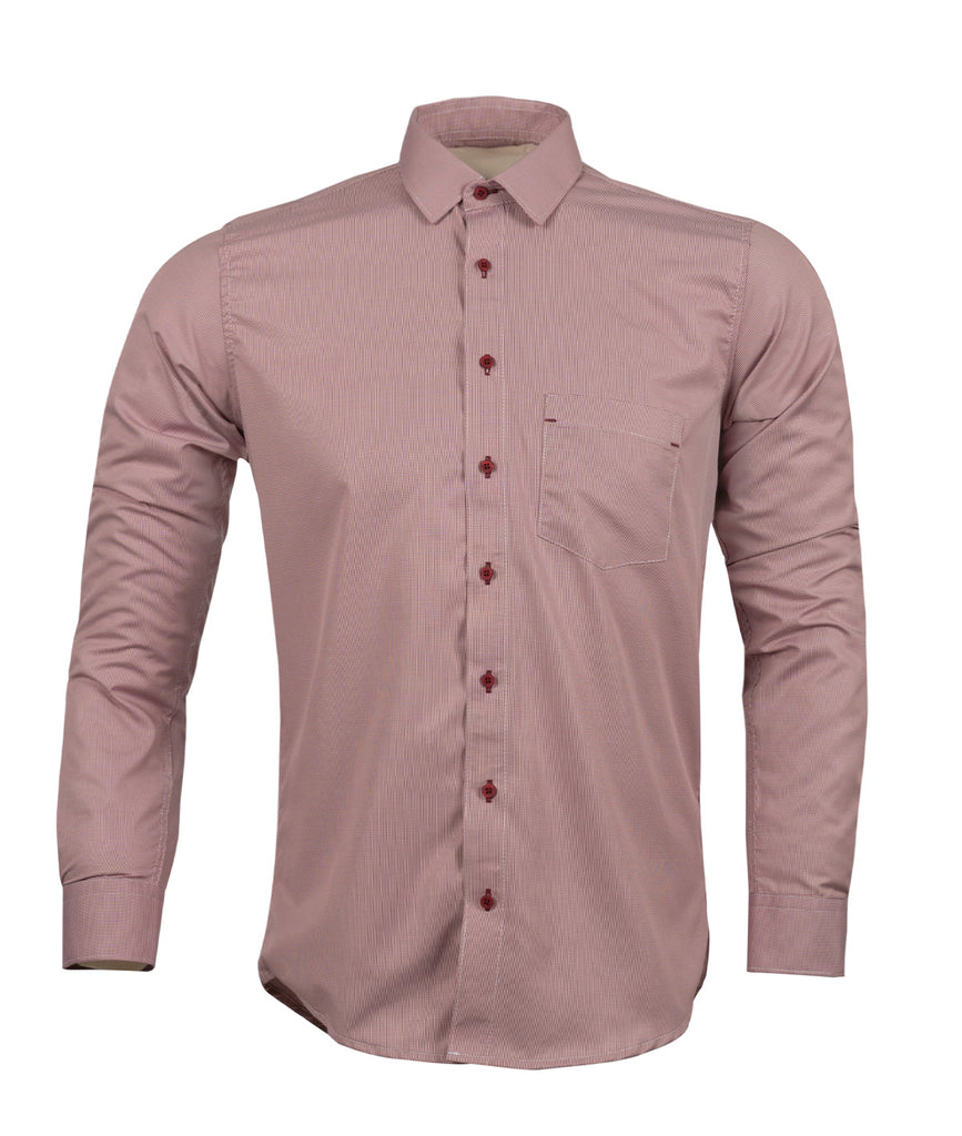 Camisa Formal Gallineto Roja Oscura