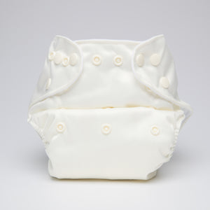pēpi collection - Ivory. Reusable nappies