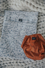 Load image into Gallery viewer, Signature Print Nappy Storage Bag