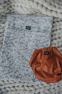 Signature Print Nappy Storage Bag