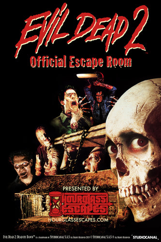 The Evil Dead 2™ Official Escape Room Gift Certificate 2 to  5 players