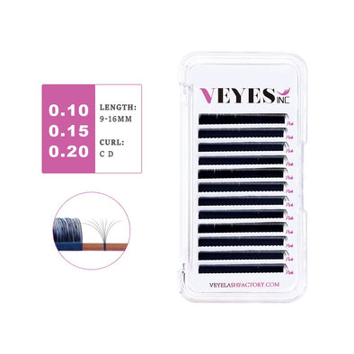 Individual Eyelash Extensions 0.10 0.15 0.20mm Individual eyelashes VEYELASH®