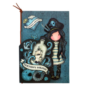*NEW* from Gorjuss by Santoro London - Black Pearl Set of 2 Stitched Notebooks