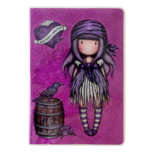 *NEW* from Gorjuss by Santoro London - Sea Nixie A5 Glitter Covered Notebook