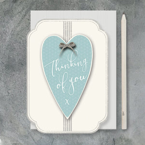 "East of India - ""Thinking of You"" Greeting Card"