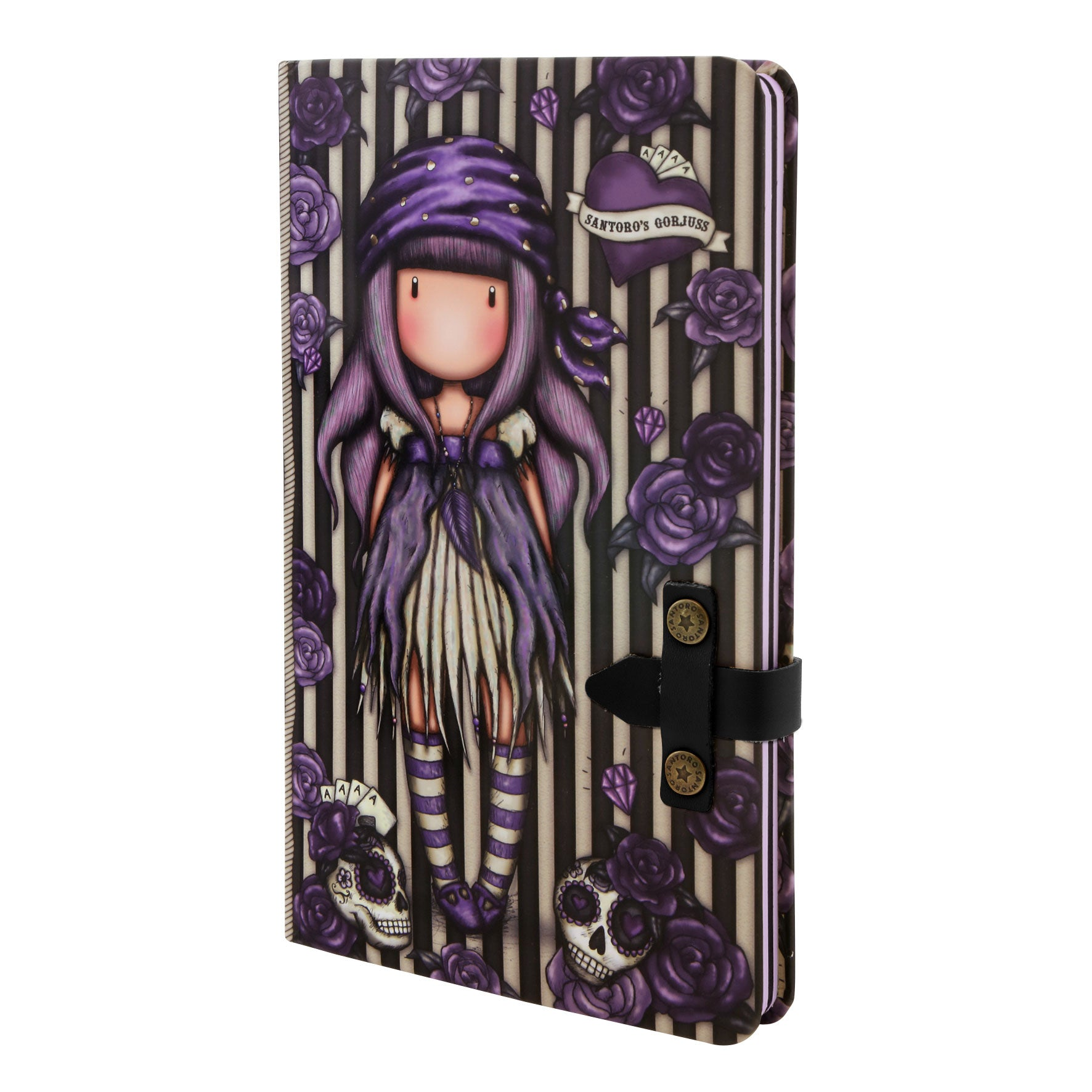 *NEW* from Gorjuss by Santoro London - Sea Nixie Large Journal w/ Strap