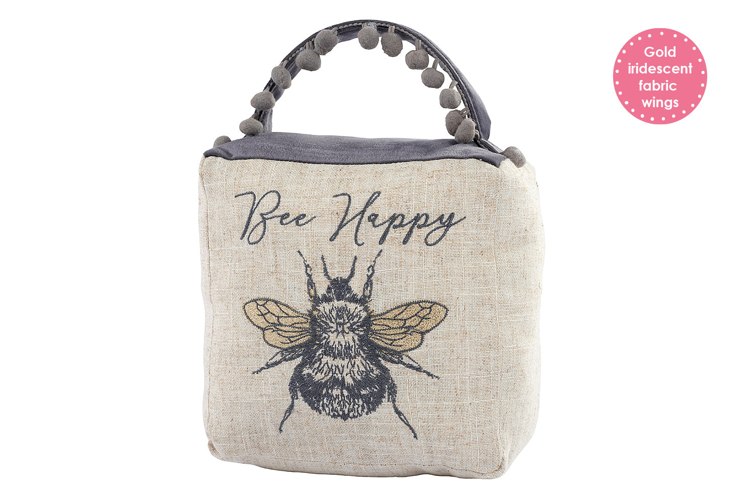 """Bee Happy"" Doorstop"