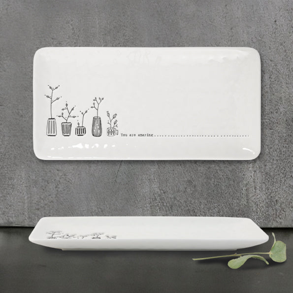 East of India - Rectangular Trinket Dish - 'You are Amazing'