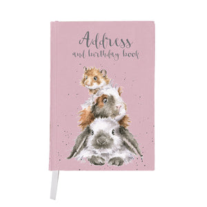 *NEW* from Wrendale Designs - Piggy in the Middle Address Book
