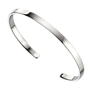Sterling Silver Torque Bangle