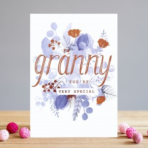 *NEW* Granny You're So Special Greeting Card by Louise Tiler Designs