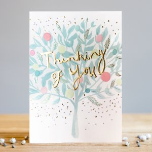 *NEW* Thinking of You Greeting Card by Louise Tiler Designs