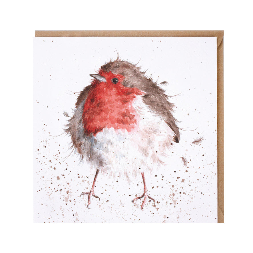 "*NEW* from Wrendale Designs - ""The Jolly Robin"" Greeting Card"