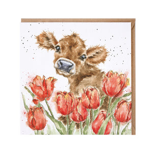 "Wrendale Designs - ""Bessie"" Blank Greeting Card"