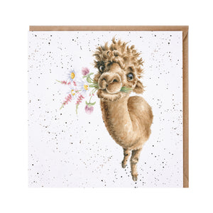 "*NEW* from Wrendale Designs - ""Hand-Picked for You Blank Greeting Card"