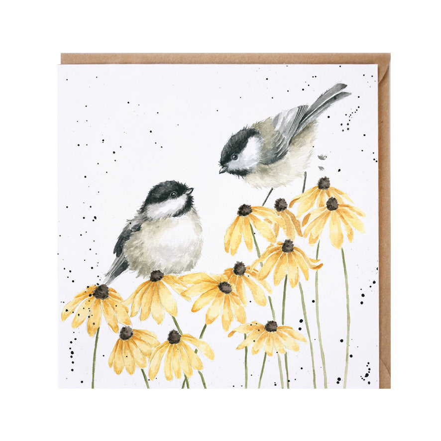 "*NEW* from Wrendale Designs - ""My Sweet Chickadee"" Blank Greeting Card"