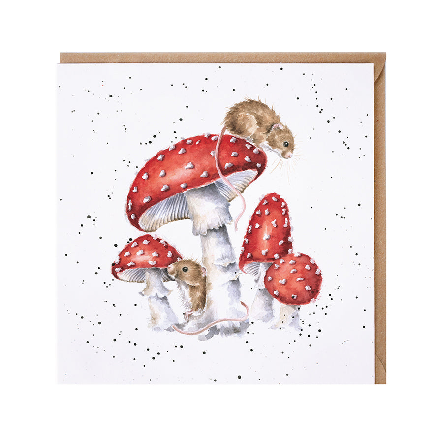 "*NEW* from Wrendale Designs - ""The Fairy Ring"" Blank Greeting Card"