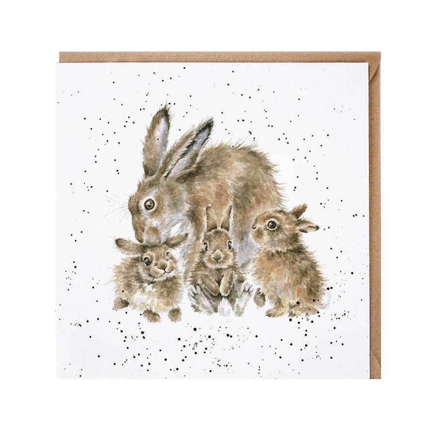 "*NEW* from Wrendale Designs - ""Furever and Always"" Blank Greeting Card"