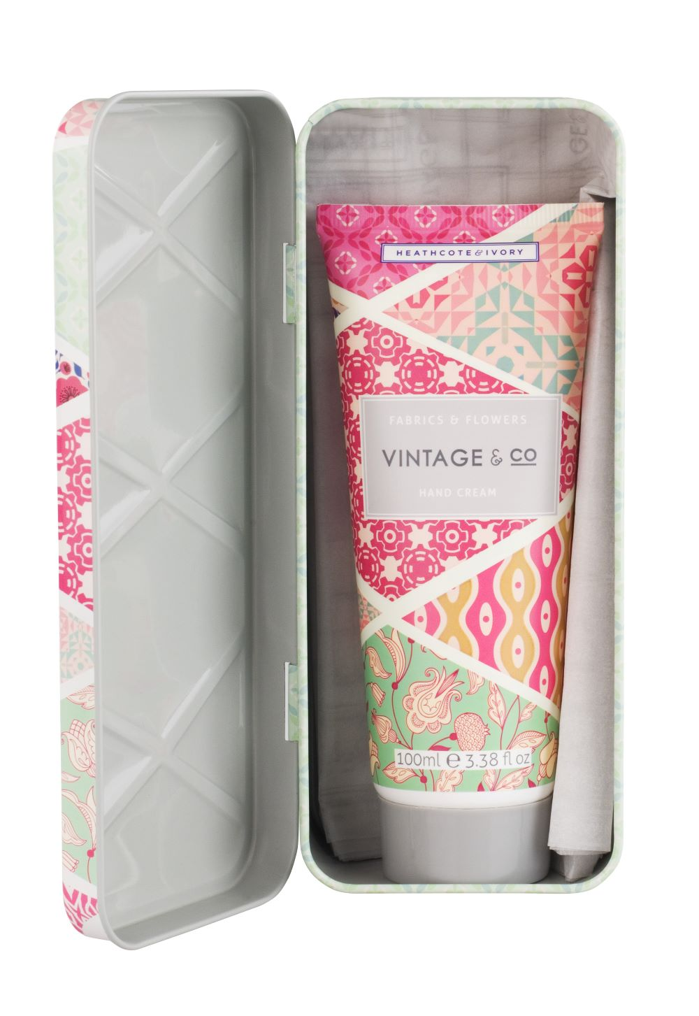 *NEW* Vintage & Co - Fabric & Flowers Hand Cream 100 ml