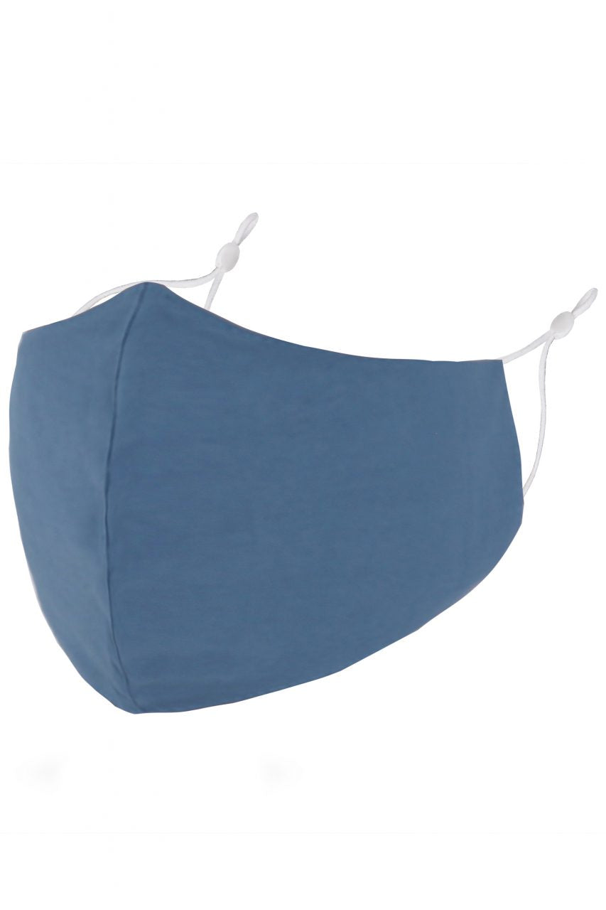 Denim Blue Adult Face Mask