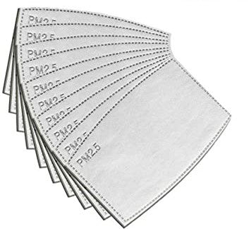 Disposable Filters for Adult Face Masks with Filter Pockets
