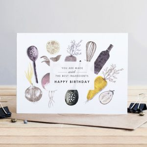 *NEW* Birthday Cook - Greeting Card for Men by Louise Tiler Designs
