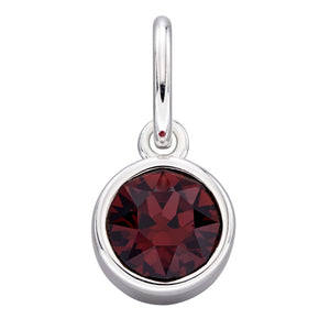 Sterling Silver Swarovski® Crystal January Birthstone Pendant
