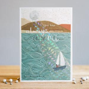 *NEW* Dad You Have Always Been There... Greeting Card by Louise Tiler Designs