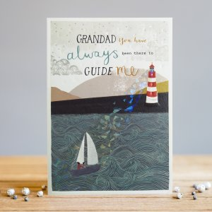 *NEW* Grandad You Have Always Been There... Greeting Card by Louise Tiler Designs