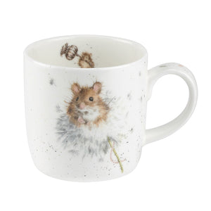 Wrendale Designs Bone Fine China Mug - 'Country Mice'