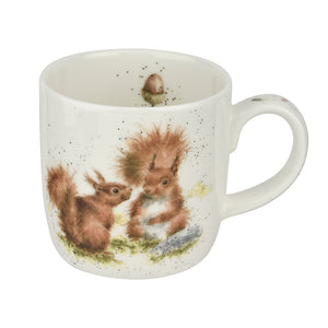 Wrendale Designs Bone Fine China Mug - 'Between Friends'