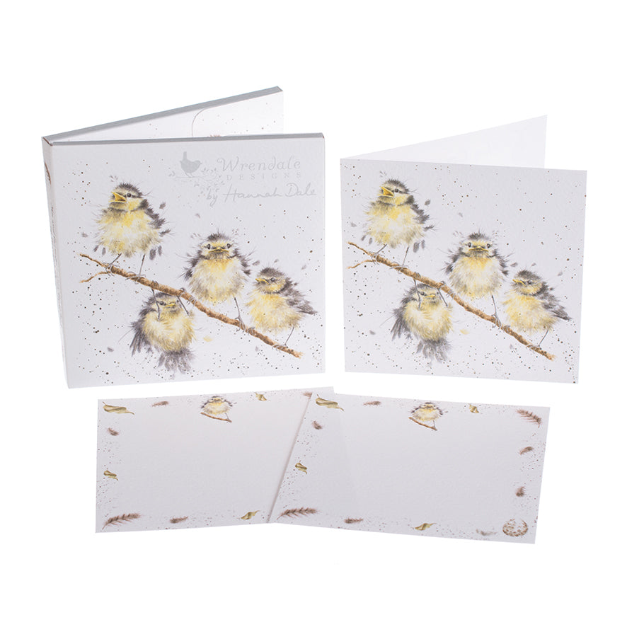 Wrendale Designs Notecard Pack - Hanging Out with Friends