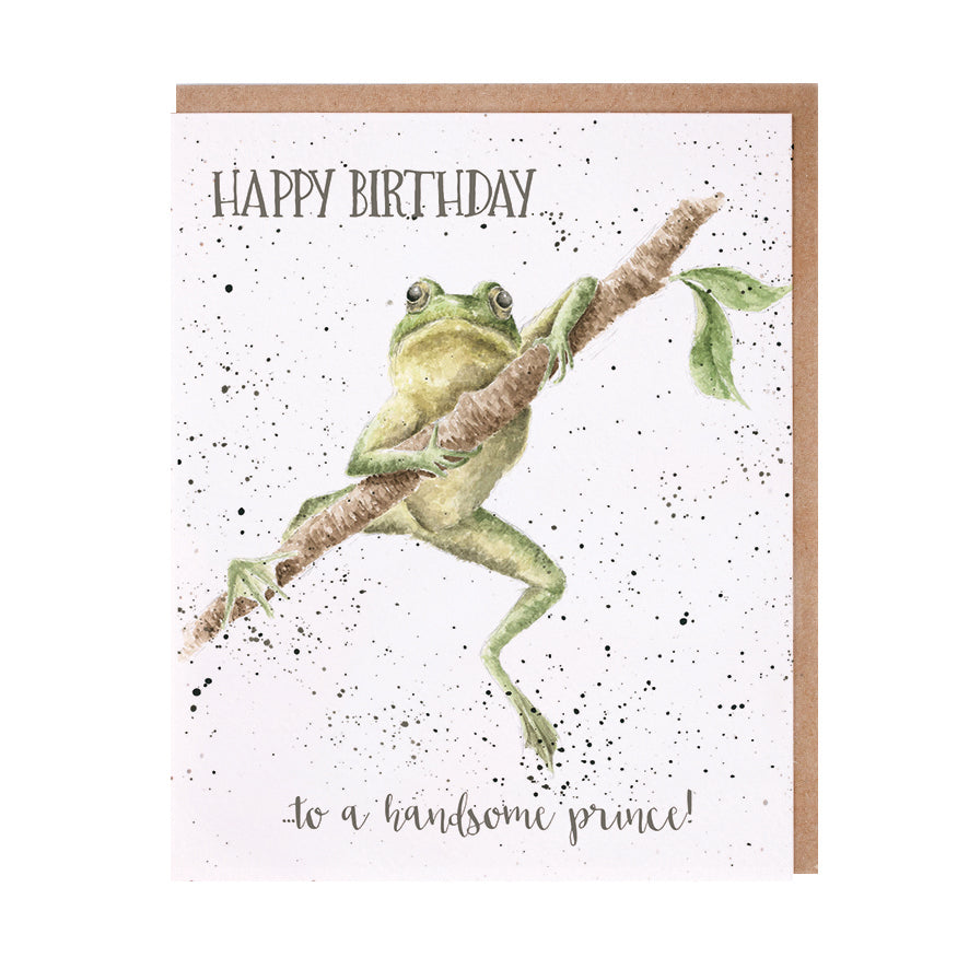 "Wrendale Designs - ""Handsome Prince"" Greeting Card"