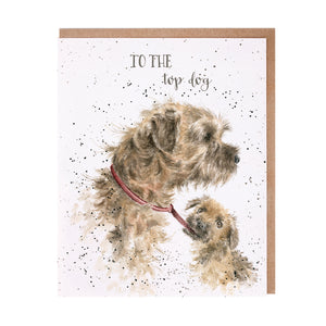 "*NEW* from Wrendale Designs - ""Top Dog"" Greeting Card"