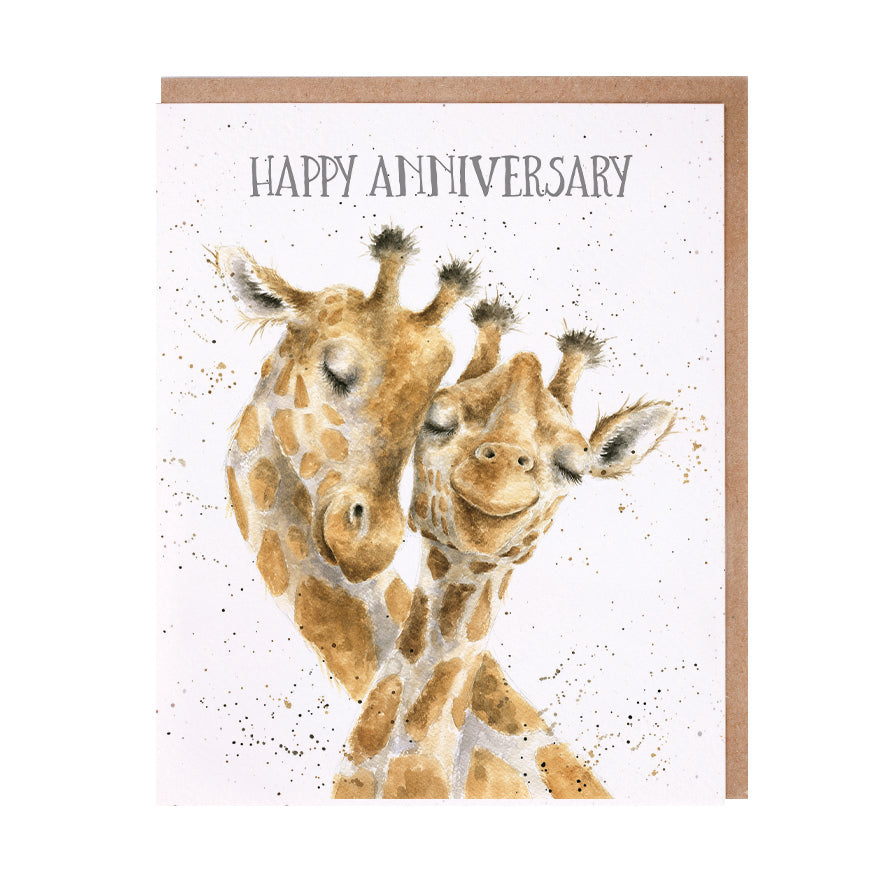 "Wrendale Designs - ""Happy Anniversary"" Greeting Card"