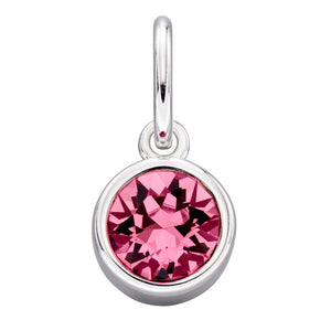 Sterling Silver Swarovski® Crystal October Birthstone Pendant
